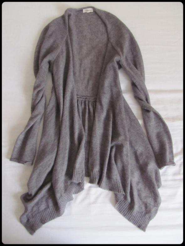 Sunshine szara narzutka sweter rozmiar 40 L