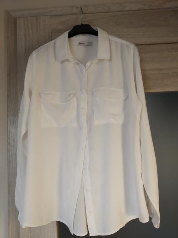 biała bluzka koszula 40