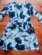 Sukienka w duży wzór L XL...