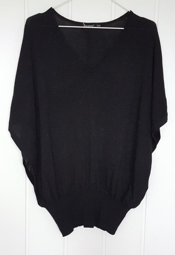 Nowa czarna narzutka Atmosphere Primark 40 L narzuta nietoperz bluzka wdzianko