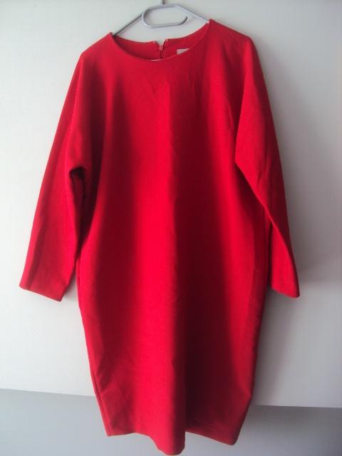 elegancka sukienka tuba