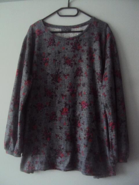 ciepła sweterkowa bluzeczka
