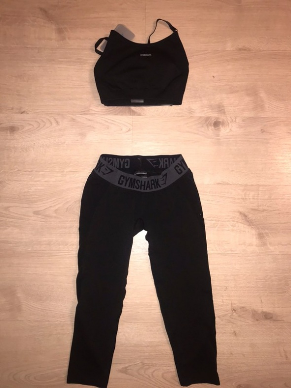 Nowy komplet na siłownię gymshark xs 34 Top i legginsy...