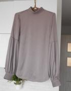 HM elegancka bluzka liliowa satynowa...