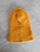 Zara nowa musztardowa ciepła zimowa czapka...