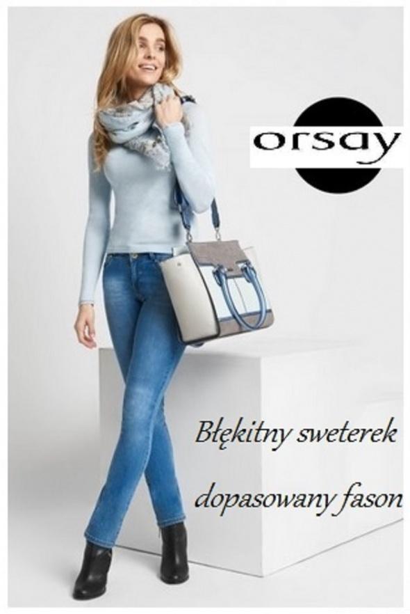 Dopasowany sweterek nowy Orsay
