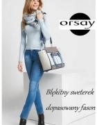 Dopasowany sweterek nowy Orsay...