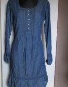 WOMAN BY TCHIBO Sukienka z cienkiego jeansu...