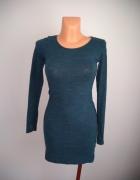 Dopasowana sukienka H&M...