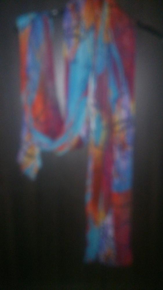 Chusty i apaszki chusta szal roznokolorowy