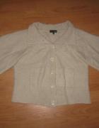 Sweter NEXT akrylowy wełniany XS...