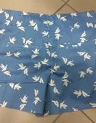 Szorty ptaki błękitne niebieskie H&M 40 L...