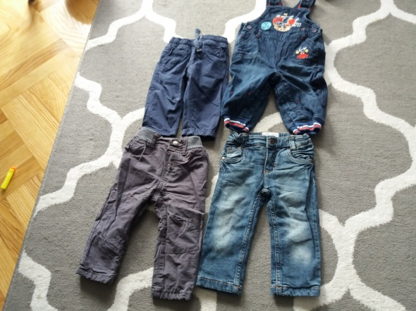 Spodnie chłopiec 80...