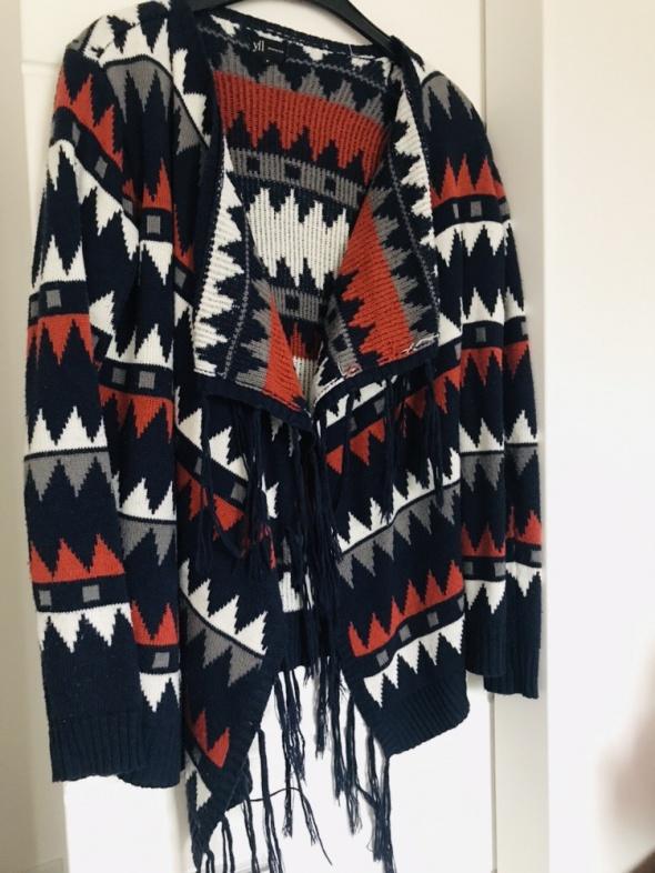 Swetry Sweter z frędzlami Reserved
