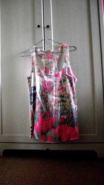 Koszulka Floral Pull&Bear...