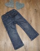 Spodnie dziewczynka jeansy rozm 92...