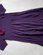 Fioletowa dzianinowa sukienka Camaieu rozm 36...