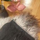 Spodniczka midi melanz ekoskorkowy pas M
