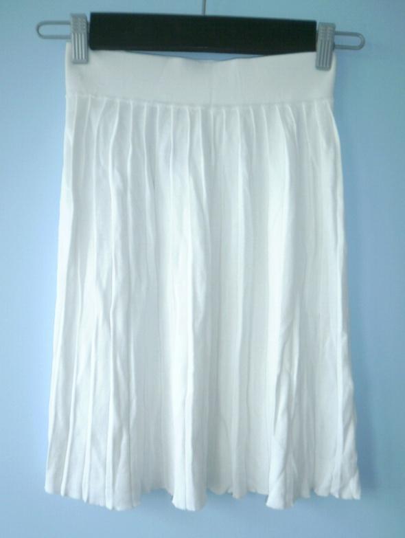 French Connection spódnica plisowana biała fcuk...