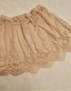 Tiulowa spódniczka 40 nude H&M...