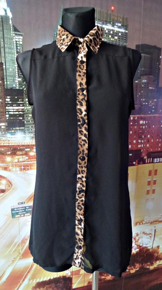 select bluzka elegancka panterka 40 L