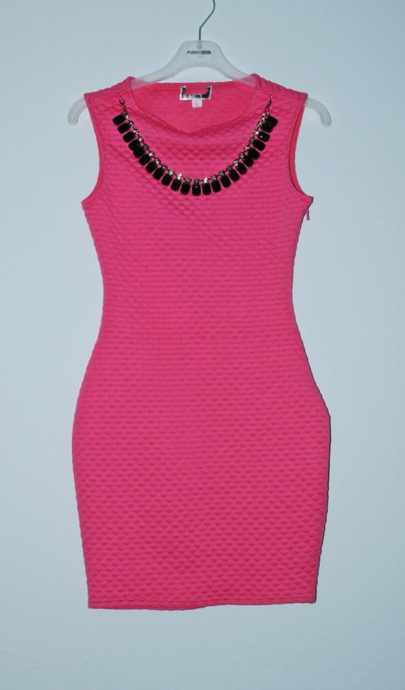 różowa sukienka lipsy s 8...