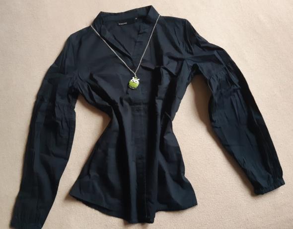 Bawełniana czarna koszula KappAhl rozm 36...