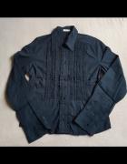 Czarna bluzka koszulowa Taranko rozm 36