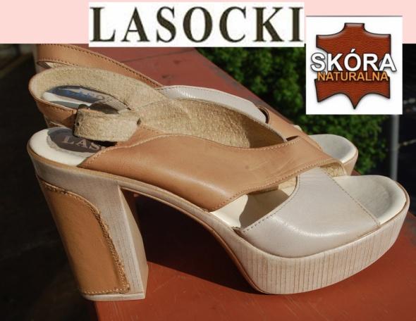 Sandały LasockiI NOWE sandały 39 40