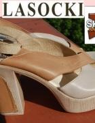 LasockiI NOWE sandały 39 40...