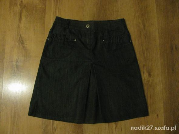Spódnice Spódniczka biurowa jeans 36