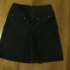 Spódniczka biurowa jeans 36