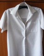 Klasyczna biała koszulowa bluzeczka GEORGE R 40...