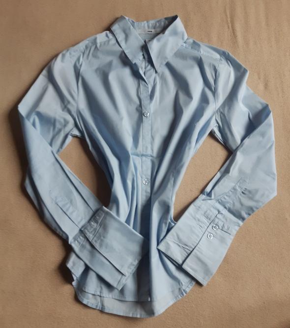 Niebieska koszula H&M rozm 36...