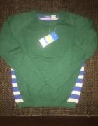 Śliczny sweterek dla chłopca nowy 110 116 4 do 6 lat...