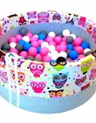 Piankowy basenik z piłeczkami dla dzieci...