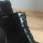 Czarne botki na obcasie rozmiar 39