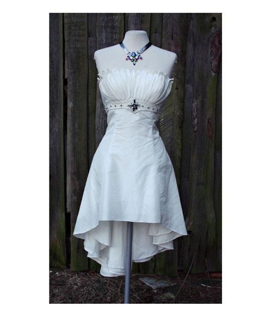 Elegancka sukienka ecru...