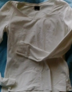 biała bluzka gina tricot...