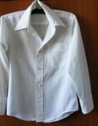 Biała bluzka koszulowa chłopięca R 12...