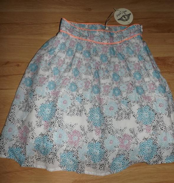Nowa spódniczka w kwiaty XXS XS