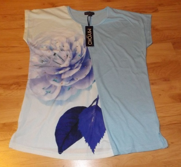 Nowa niepowtarzalna bluzka Miyoko London M