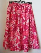 Różowa długa szeroka spódniczka R 40...