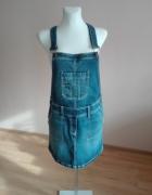 Spódnica jeansowa ogrodniczka...