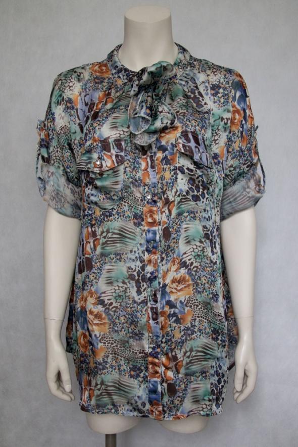 letnia koszula mgiełka plus size