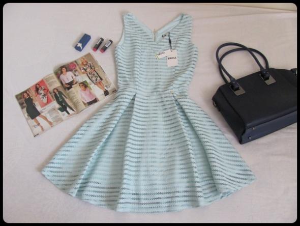 Suknie i sukienki Elegancka NOWA sukienka z metką Troll 38 M