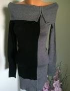 sweter golf zip...