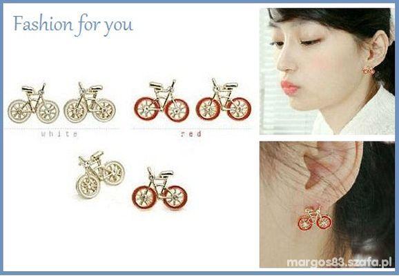 Kolczyki rowerki
