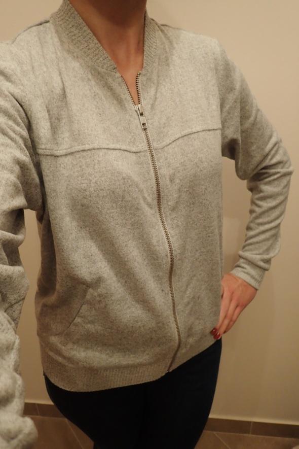 F&F ff szary sweter bluza bomberka r 36 38