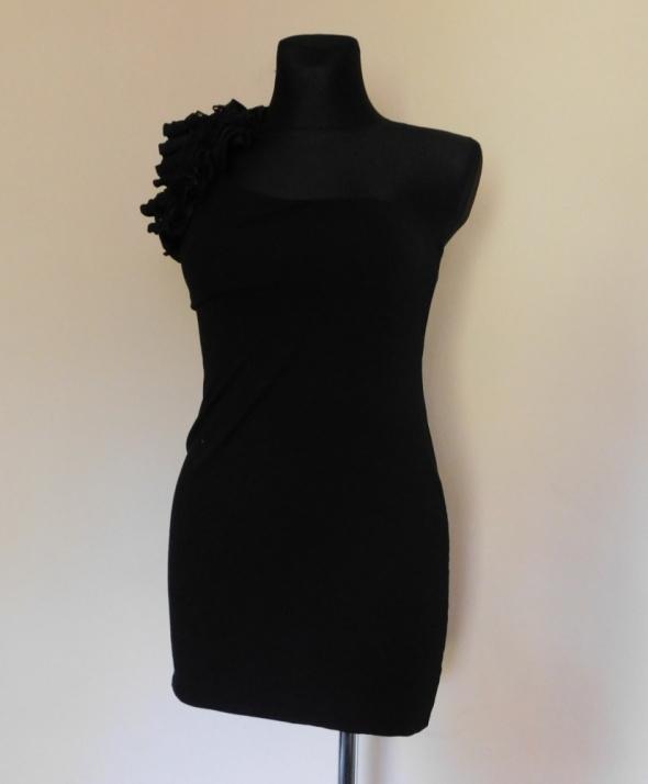 Miss Selfridge czarna mini sexy sukienka 38 40...